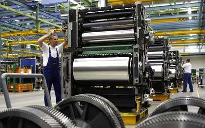 Druckmaschinenmontage: Heideldruck steckt in der Krise