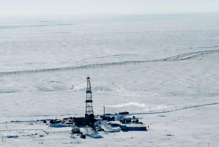 Bohrturm von Rosneft: Neue Konkurrenz im Inland
