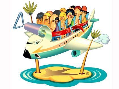 Plötzlich Economy-Class: Gerade in Krisenzeiten sparen Unternehmen vor allem bei den Reisekosten