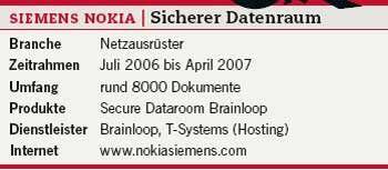 Neuer Netzausrüster: Fakten zu Siemens Nokia