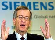 Siemens-Chef von Pierer: Seine Stärke liegt im Dialog, nicht in der Konfrontation