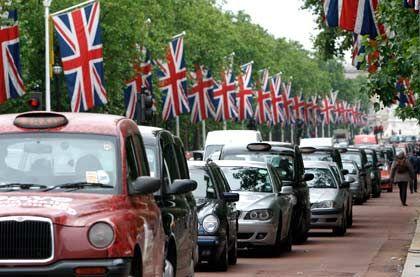 Kein Vorankommen: Die britische Wirtschaft schrumpft im Jahresvergleich um 5,2 Prozent
