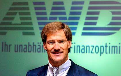 AWD-Chef Carsten Maschmeyer kann mit 2004 mehr als zufrieden sein