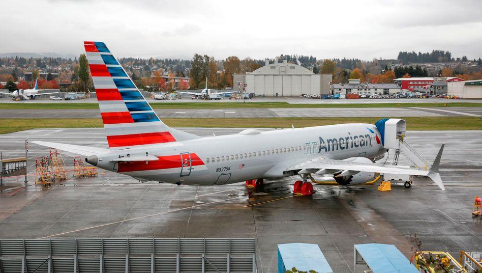 Boeing 737 Max: Solche Maschinen wie hier von American Airlines könnten bald wieder fliegen.