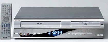 Kopieren mit einem Knopfdruck: Möglich mit dem DV-RW250 von Sharp