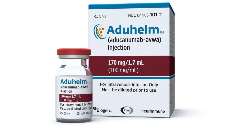 Aduhelm: Das Alzheimer-Medikament des Herstellers Biogen kann die Krankheit wohl nicht heilen, soll ihr Fortschreiten aber verlangsamen können