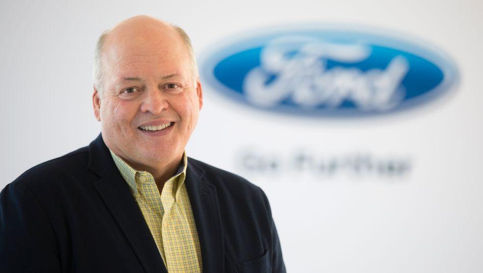 Jim Hackett ist Fords neuer CEO
