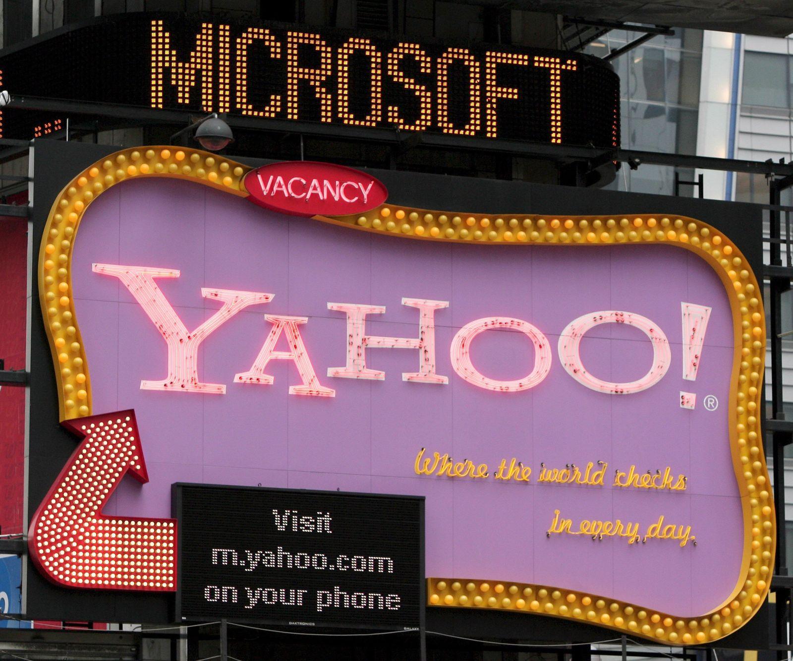 US-Medien: Microsoft vor feindlichem Übernahmeangebot für Yahoo!