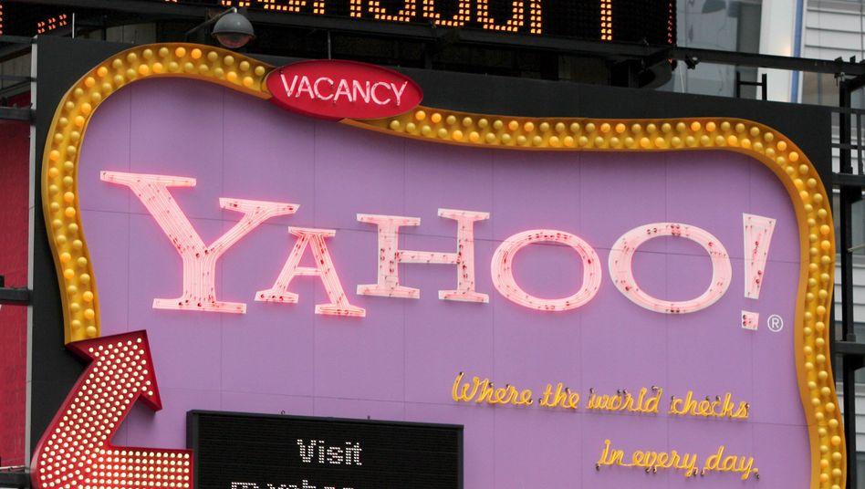 Yahoo-Logo: Bald unter dem Dach von Microsoft?