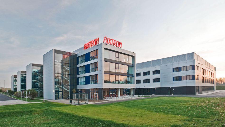 Aixtron-Zentrale in Herzogenrath.
