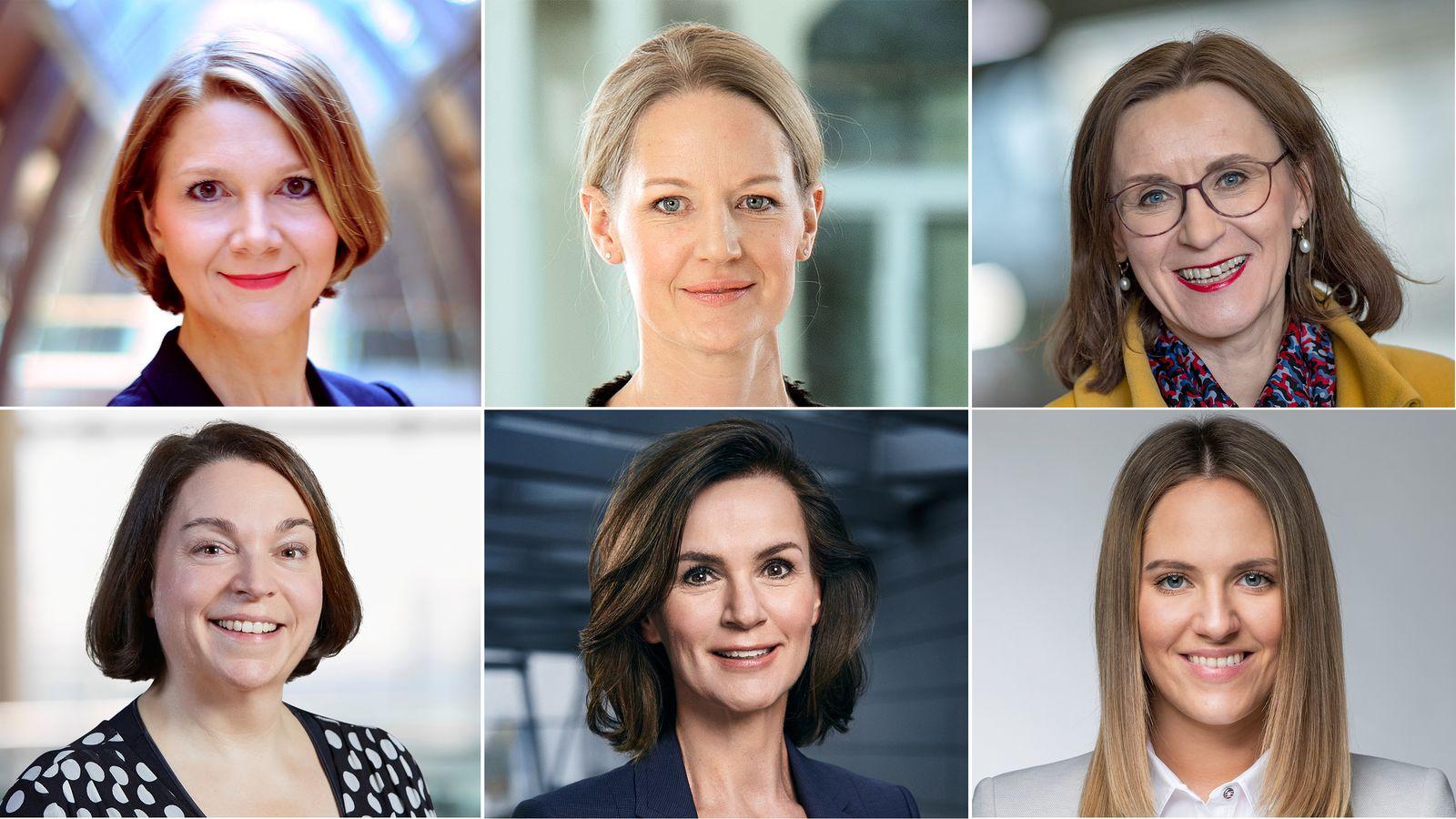 KOMBO Doreen Nowotne / Anna Maria Braun / Sigrid Nikutta / Christina Foersters / Hildegard Wortmann / Melanie Köhler