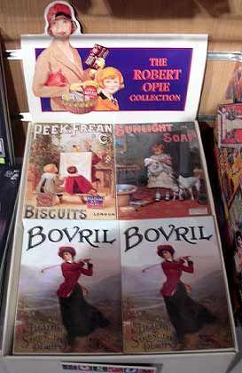 Gedruckte Erinnerung: Postkarten zur Robert Opie Collection