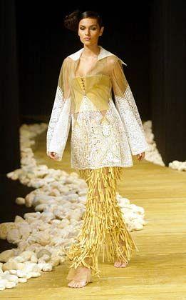 Auffallen um jeden Preis: Outfit von Georges Chakra