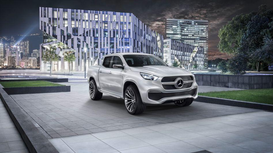 Mercedes X-Klasse: Auch Daimler hat Diesel-Sorgen