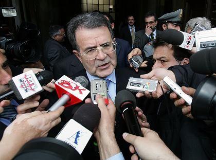Prodi: Ein Teil seiner Viel-Parteien-Koalition entzog ihm die Zustimmung
