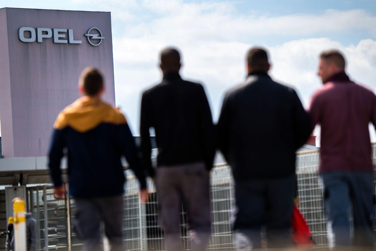 Opel / Belegschaft / Rüsselsheim