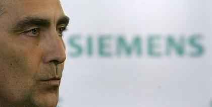 """Schwere Aufgabe: CEO Löscher will """"glasklare Verantwortlichkeiten"""" bei Siemens schaffen"""