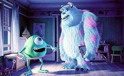 """Wenn die Monster das Fürchten lehren: Die """"Monster AG"""" aus dem Studio Pixar"""