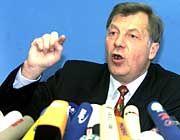 Eberhard Diepgen ist mit seiner Koalition am Ende