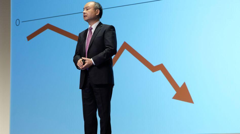 Große Depression: Softbank-Chef Masayoshi Son verzeichnet einen Rekordverlust