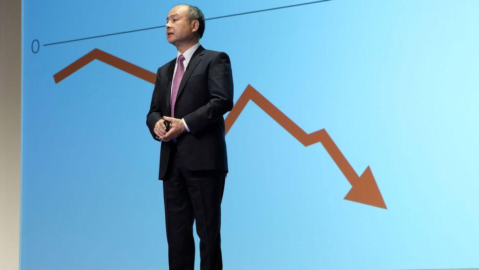 Softbanks riesiger Tech-Fonds braucht dringend Geld - Masayoshi Son muss umbauen