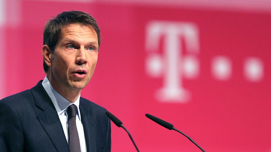 Rene Obermann: Der scheidende Telekom-Chef hat sich schon 2012 zu Gesprächen mit Spotify-Mitgründer Martin Lorentzon getroffen