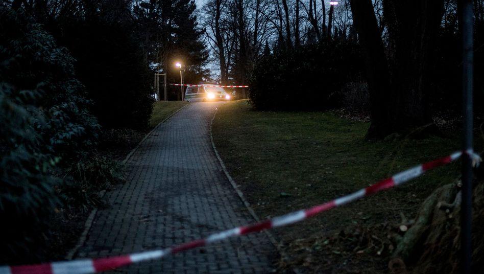 Tatort im nordrhein-westfälischen Haan