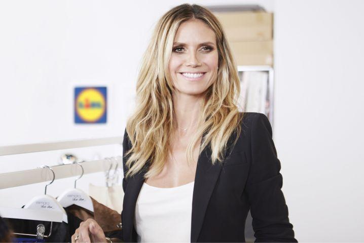Heidi Klum: Eigene Modekollektion für Lidl