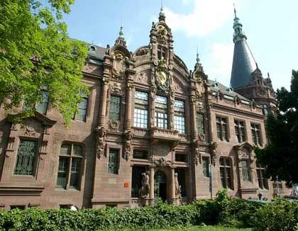 Bibliothek der Universität Heidelberg: Kleine, feine Hochschule