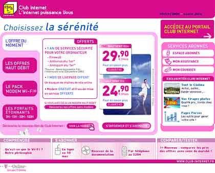 Hart umkämpft: Mit Club Internet spielt T-Online in Frankreich nur eine Statistenrolle