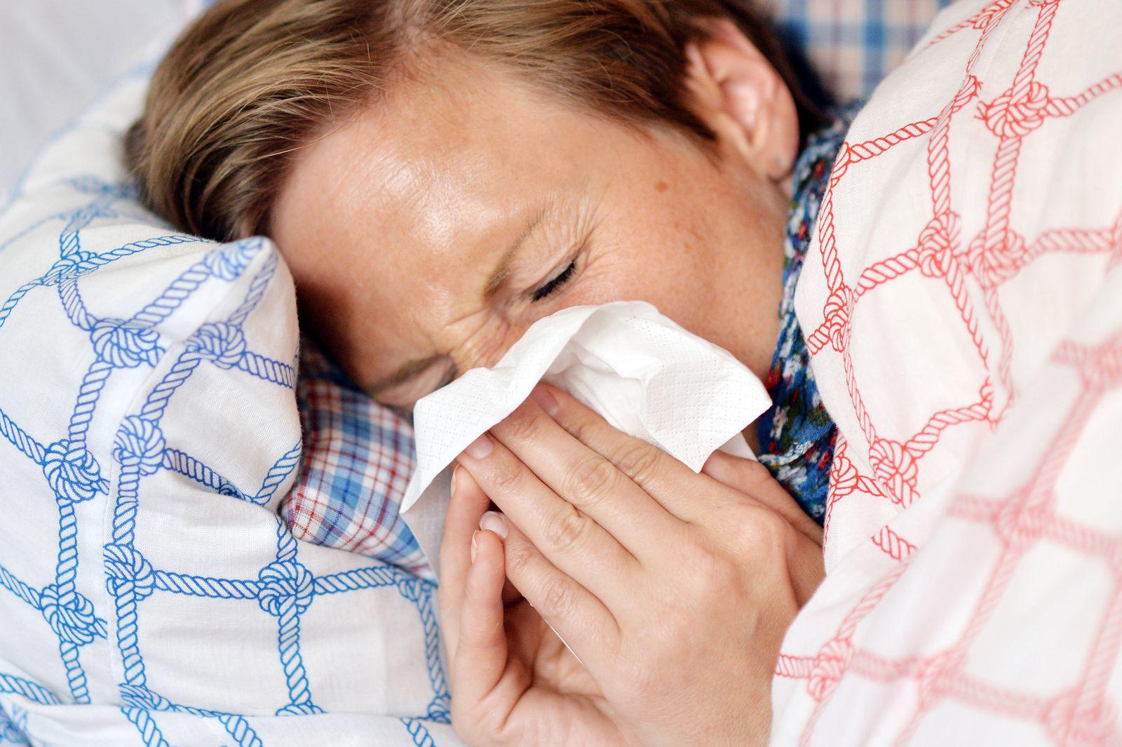 Erkältung Niesen