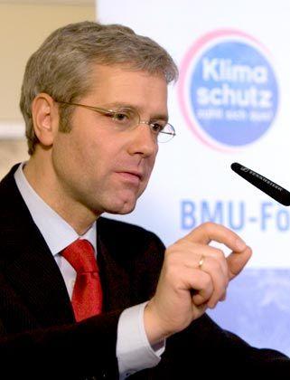 Will die CO2-Emissionen senken: Umweltminister Röttgen