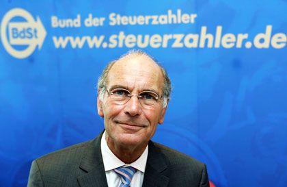 Seit vier Jahrzehnten gegen (fast) alles: Steuerzahler-Präsident Däke