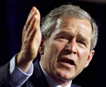 Lohn guter Beziehungen: Mit geliehenem Geld und geschickten Aktiendeals brachte es George W. Bush vom Pleitkandidaten zum Multimillionär.