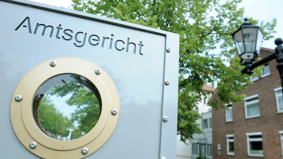 Endstation Amtsgericht: Die Zahl der Insolvenzen stieg in Deutschland im ersten Halbjahr 2021 auf den höchsten Stand seit Jahren. Die Zahl der Privatinsolvenzen ist auf rund 46.000 in die Höhe geschnellt