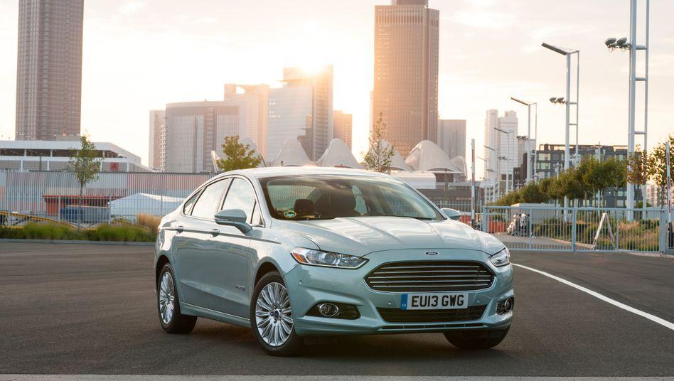 Neu aufgelegte Modelle wie der Mondeo bescheren Ford in China ein kräftiges Verkaufsplus