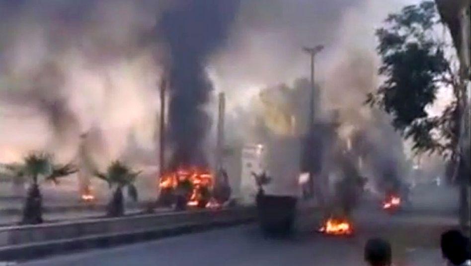 Kämpfe in Damaskus: An einem einzigen Tag kamen in ganz Syrien 300 Menschen ums Leben
