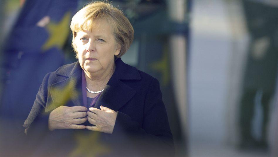 Angela Merkel: Die kommende Woche dürfte für die deutsche Kanzlerin fordernd werden. Denn das, was sie als Stabilisatoren ansehen würde, dürften andere Länder als Arsenal des Schreckens wahrnehmen