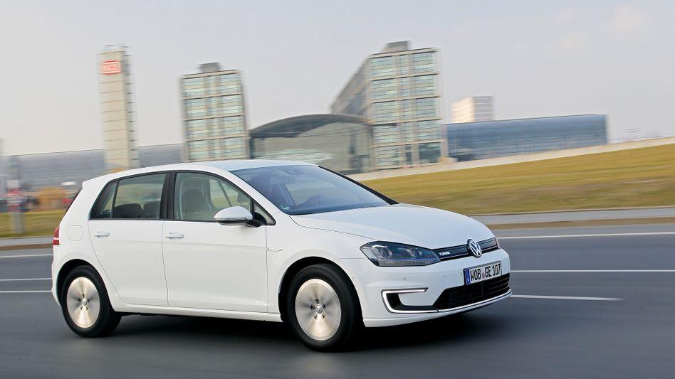 Hoffnungsträger für Volkswagen: Mit dem E-Golf will Konzernchef Martin Winterkorn BMW, Nissan und Renault bei alternativen Antrieben angreifen