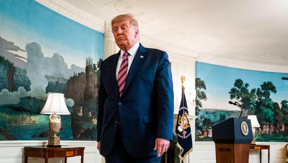 """US-Präsident Trump: """"Das ist tödliches Zeug"""""""