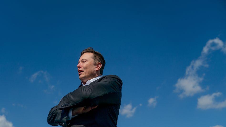 Viel Energie: Elektroauto- und Batteriepionier Elon Musk