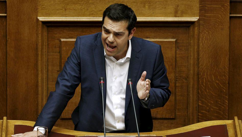 Griechenlands Regierungschef Alexis Tsipras strapaziert die Nerven der Euro-Partner und der Investoren. Mangelnde Verlässlichkeit ist Gift für die Börse - Syrizas Achterbahnkurs sorgt für starke Schwankungen an den Märkten
