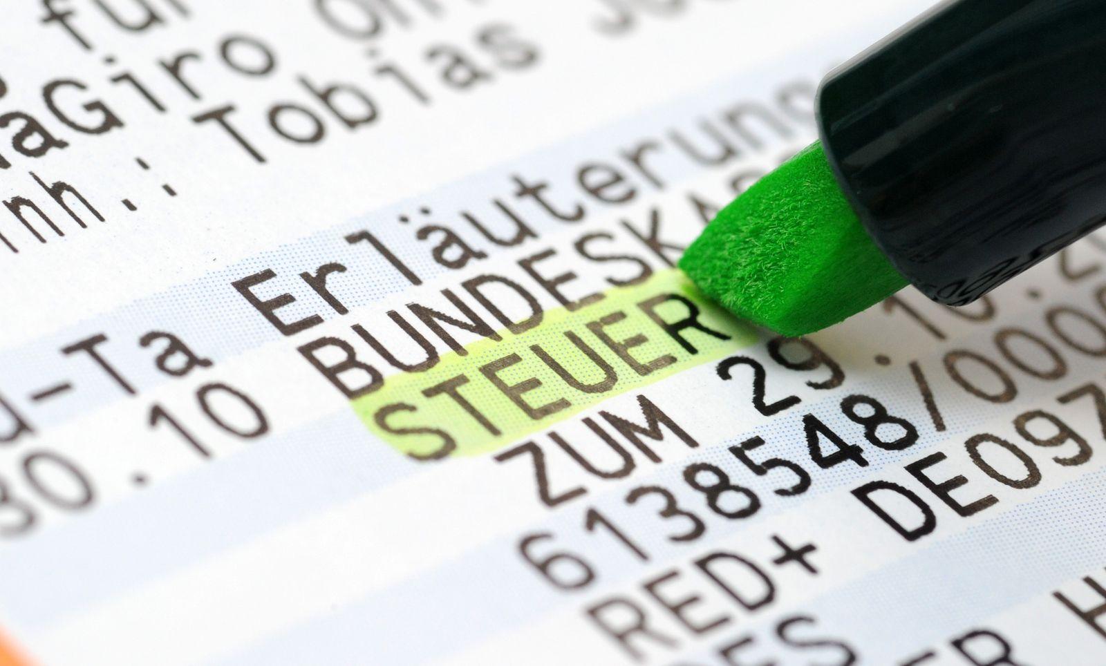 Steuerschätzung