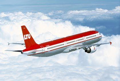 Bleibt vielleicht bald am Boden: LTU-Flieger