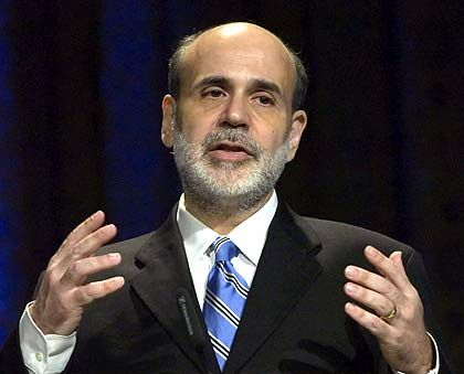 Moderat: Fed-Chef Bernanke