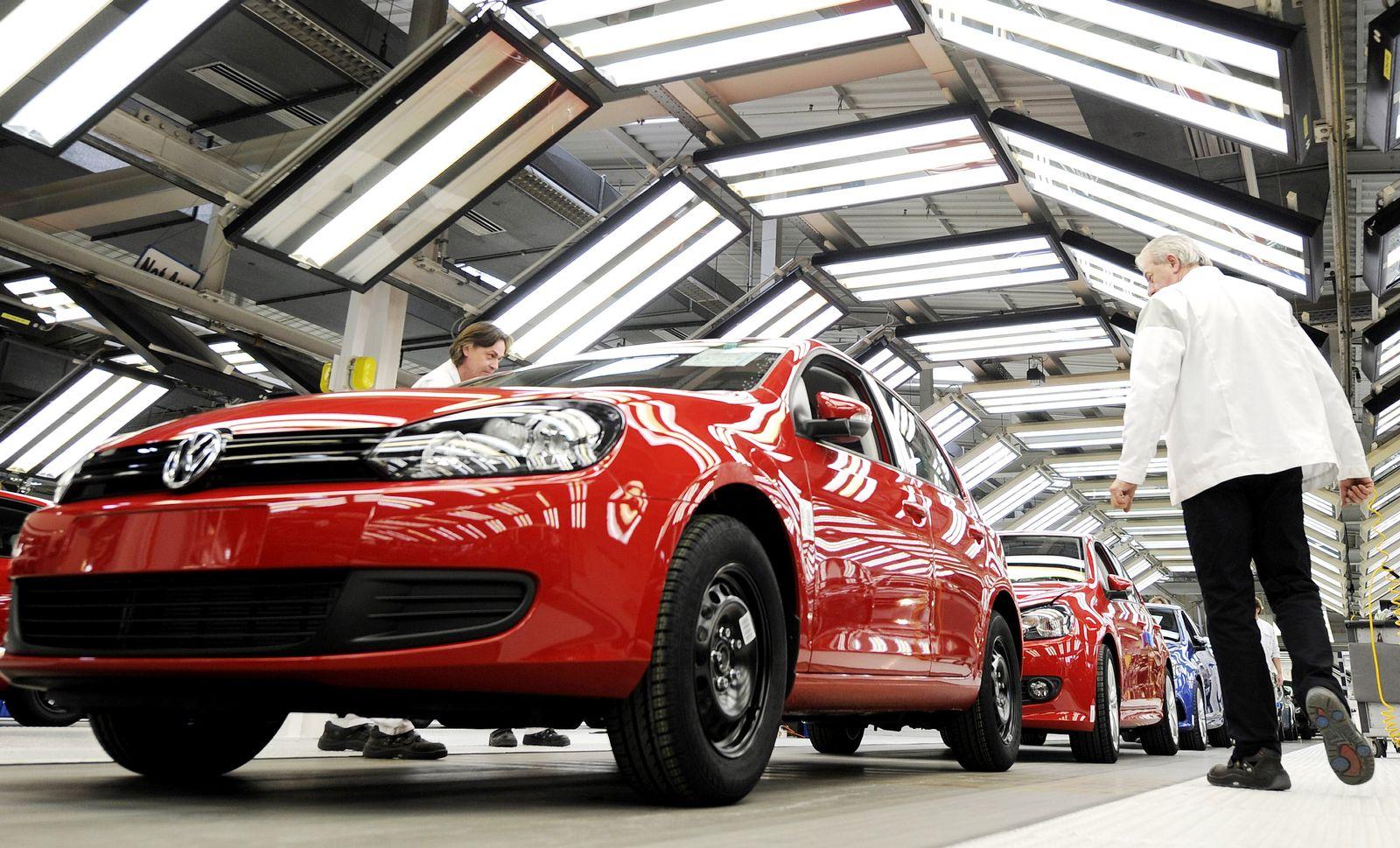 NICHT VERWENDEN Produktion Volkswagen