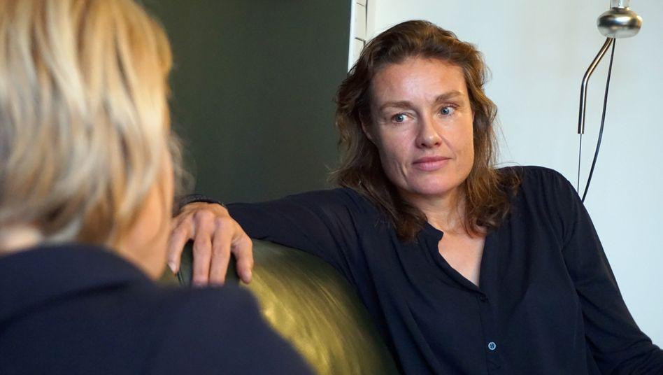 Katja Kraus, geschäftsführende Gesellschafterin der Sportmarketingagentur Jung von Matt/Sports, im Podcast-Interview mit Eva Buchhorn (Archiv)