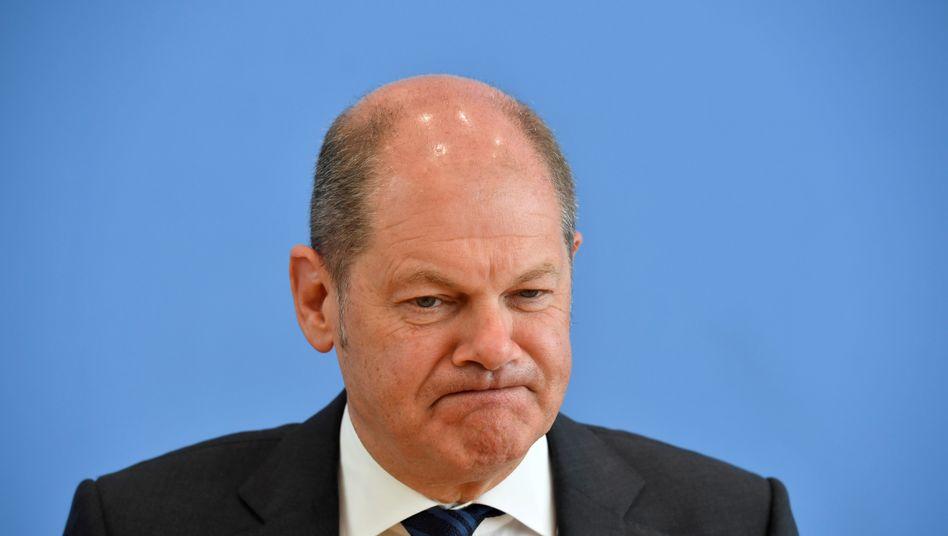 Bundesfinanzminister Olaf Scholz setzt zur Bewältigung der Krise und zur Hilfe besonders betroffener Staaten auf die Kombination von drei Finanzinstrumenten, die Corona-Bonds sind nicht dabei.