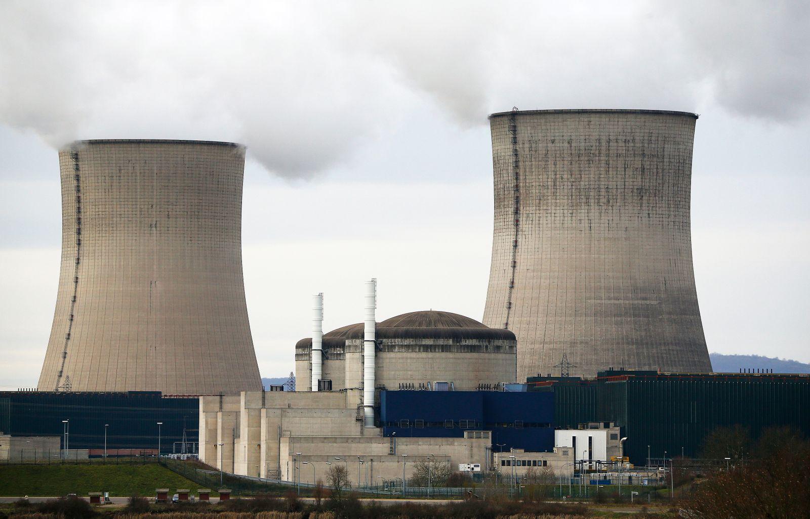 Atomkraftwerk Cattenom / Frankreich