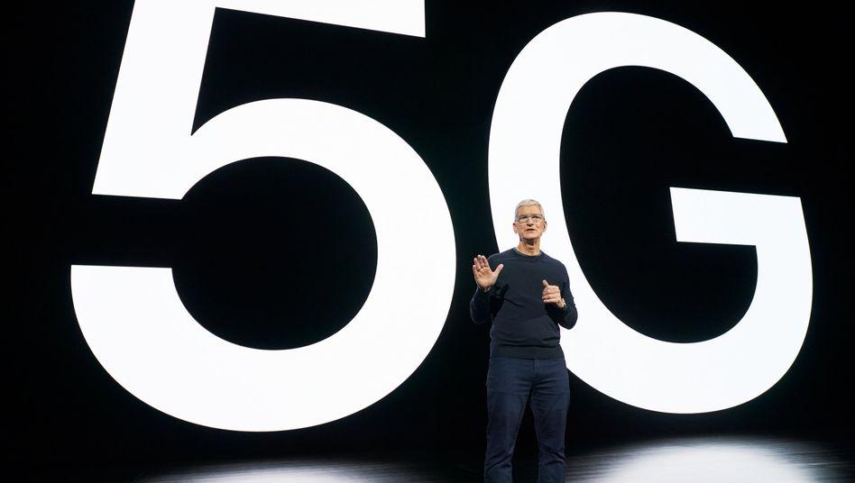 Stellte klar, dass 5G das wichtigste Feature des iPhone 12 sein wird: Apple-Chef Tim Cook